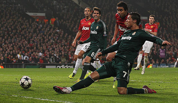 Manchester United: 1 - Real Madrid: 2 İZLE