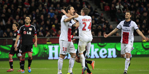 Paris Saint Germain Leverkusen'i 4'ledi!