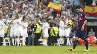 Real Madrid: 3 - Barcelona: 1 İZLE