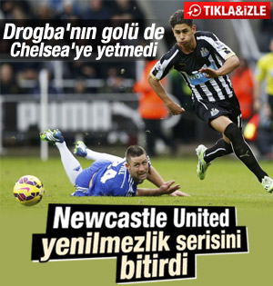 Newcastle United: 2 - Chelsea: 1 İZLE