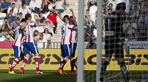 Cordoba: 0 - Atletico Madrid: 2