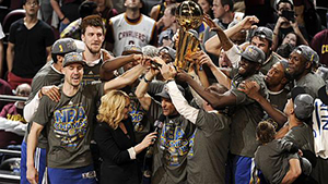 NBA'de şampiyon Golden State Warriors