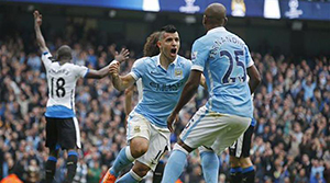 Manchester City: 6 - Newcastle United: 1