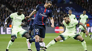 Paris Saint Germain: 2 - Manchester City: 2