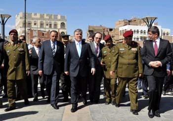Cumhurbaşkanı Abdullah Gül Yemende hüngür hüngür ağladı galerisi resim 3