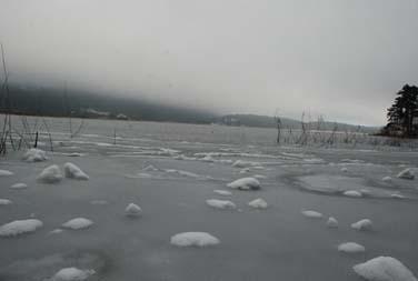 Abant Gölü dondu! galerisi resim 1