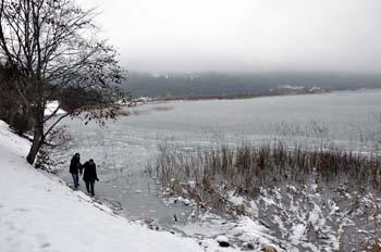 Abant Gölü dondu! galerisi resim 3