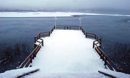 Abant Gölü dondu! galerisi resim 6