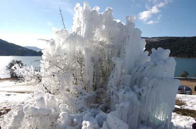 Abant Gölü dondu! galerisi resim 7