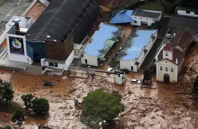 Brezilyada sel suları 270 can aldı galerisi resim 10