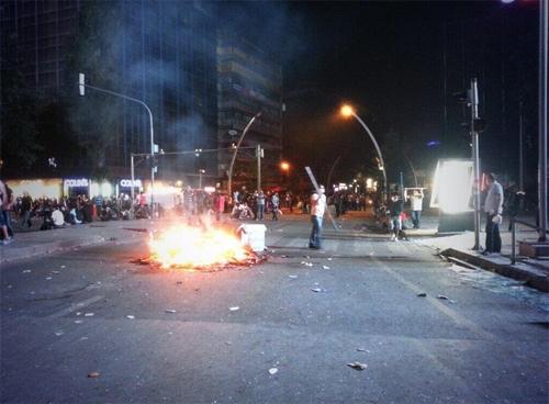 Ankarada Gezi gösterileri galerisi resim 1