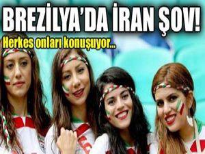 İranlı taraftarlar Brezilya'yı salladı