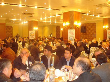 Ilgaz Dernekler Birliğinin Akgün Oteldeki yemeği galerisi resim 5