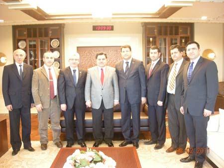 Çankırı Barosu üyeleri Anayasa Mahkemesi Başkanı Kılıçı ziyaret etti galerisi resim 1