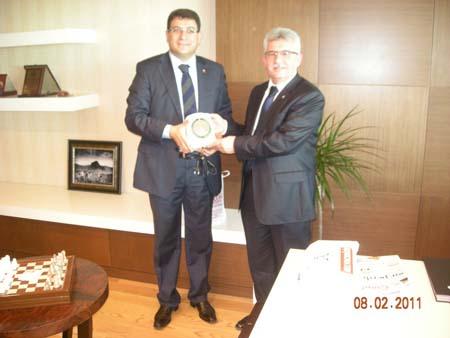 Çankırı Barosu üyeleri Anayasa Mahkemesi Başkanı Kılıçı ziyaret etti galerisi resim 2