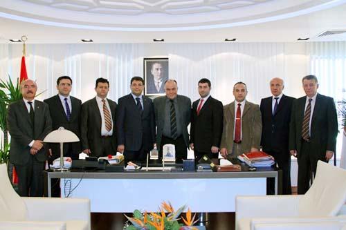 Çankırı Barosu üyeleri Anayasa Mahkemesi Başkanı Kılıçı ziyaret etti galerisi resim 3