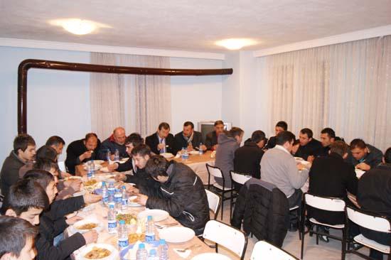 Çerkeş Belediyesporda moral yemeği galerisi resim 4