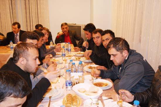 Çerkeş Belediyesporda moral yemeği galerisi resim 5