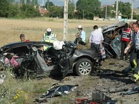 Konyada katliam gibi kaza: 7 ölü