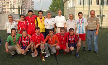 Merkez Bayındır Köyü Futbol Turnuvası tamamlandı