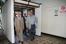 Meclis Başkanı ve Devlet Bakanı Çankırıdan geçtiler