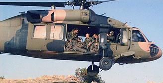 Tokatta askeri helikopter düştü!