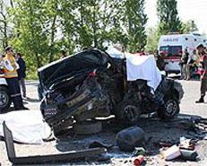Sorgunda zincirleme kaza: 2 ölü 2 yaralı
