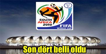 Dünya Kupasındaki son 4 takım belli oldu