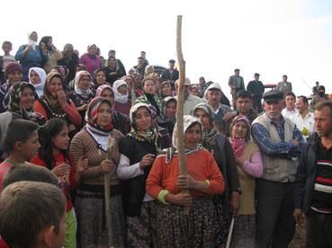 Tımarlı köylülerince yatırımcıya organize tepki