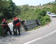 Antalyadaki kazada 7 kişi can verdi