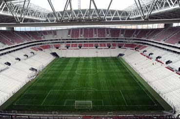 Seyrantepedeki Türk Telekom Arenanın  düşündürdükleri!