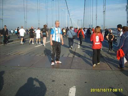 Bu yıl köprüyü 18 nolu formayla geçti