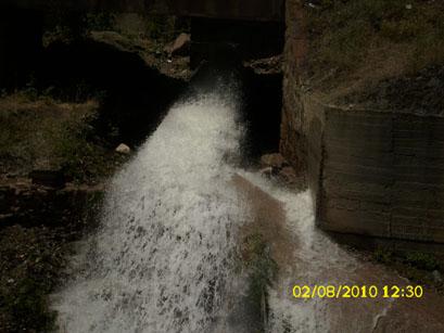 Dağları aşarak gelen temiz su, şehir merkezinde kirlenecek!