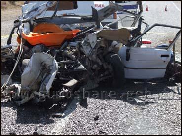 Kelkit'te kaza: Aynı aileden 5 ölü!
