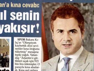Sözcü gazetesi Bakanı kınaladı!