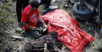 Tosyada feci kaza: 2 ölü 7 yaralı