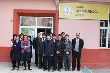 Çerkeş Anadolu Lisesi öğrencileri Macaristan yolunda!