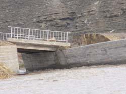 Germece Köprüsü 20 günde göçtü