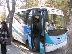 Halk otobüslerinde kartlı uygulama