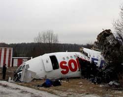 Rusyada yolcu uçağında patlama