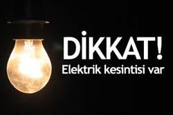 Başkentte 3 gün elektrik kesintisi var