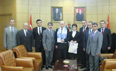 MHP Genel Başkanı Bahçeli de taraftar kartı sahibi