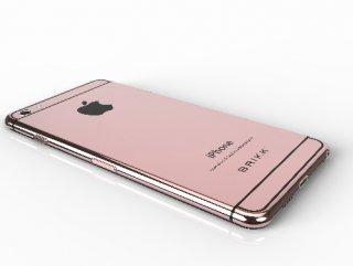 Pembe iPhone piyasaya sürülecek