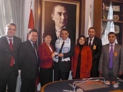Kınıklıoğlu ve Bukan da taraftar kartı sahibi oldu!