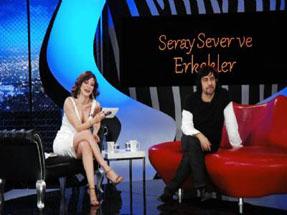 Çerkeşli güzel Seray Severin konuğu Okay Bayülgendi!