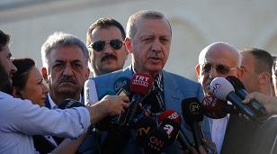 Son Dakika... Cumhurbaşkanı Erdoğan Bayram Namazı'nda rahatsızlandı