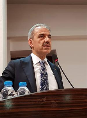 İrfan Dinç'ten Mehmet Hallaç'a 'hayırlı olsun' ziyareti!