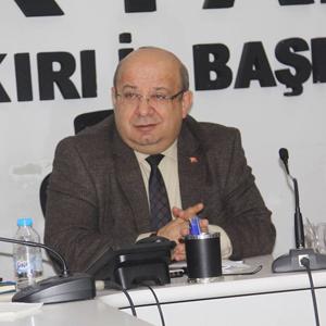 AKP Çankırı'da İl Genel ve Belediye Meclisi'nin yeni Grup Başkanı Celal Kaman