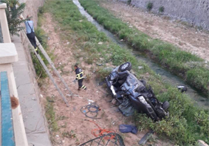 Polisten kaçan araç Tatlıçay'a uçtu!