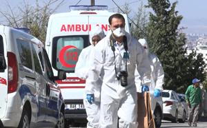 Ankara'da, evde elleri kelepçeli ağzı bantlı olarak ölü bulundu